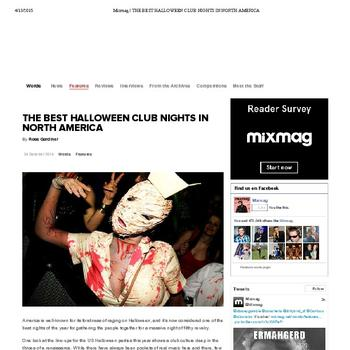 The Best Halloween Club Nights In North America